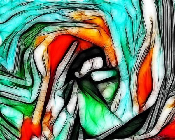 Abstract 023 Art Print