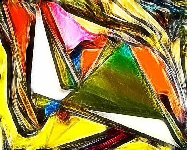 Abstract 028 Art Print