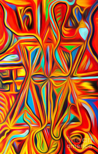Digital Art - Abstract 03 by Gregory Dyer