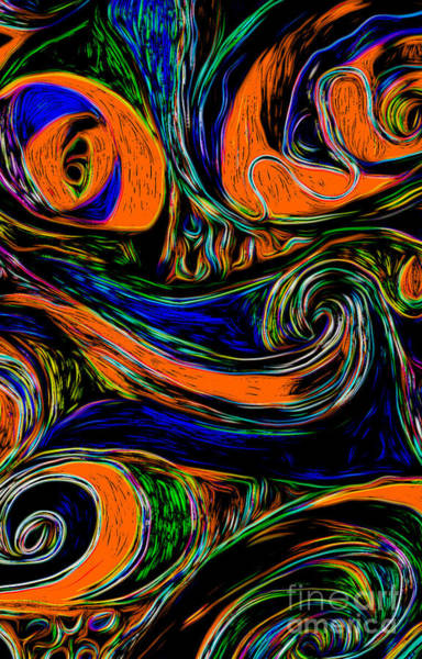 Digital Art - Abstract 06 by Gregory Dyer