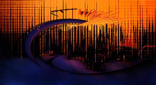 Associated Digital Art - Abstract 1001 by Gerlinde Keating - Galleria GK Keating Associates Inc