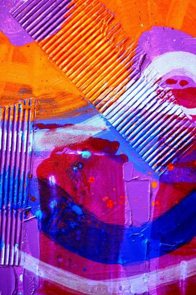 Abstract Expressionism Wall Art - Painting - Abstract  19614 Cropped IIi by John  Nolan