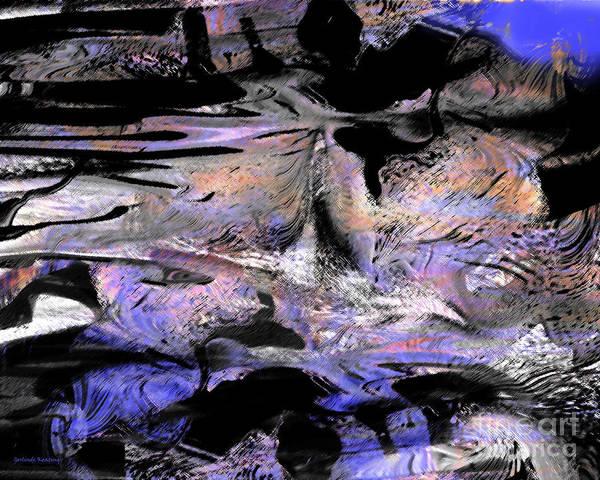 Associated Digital Art - Abstract 2017 by Gerlinde Keating - Galleria GK Keating Associates Inc