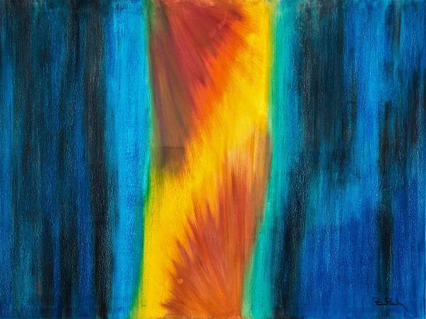 Ch Painting - Abstract 21 Omnes Mundi Theatro All The World's  Stage by Brian Broadway