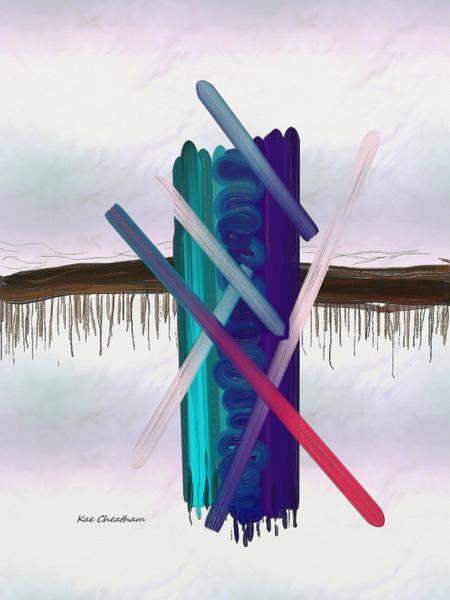 Digital Art - Abstract 215 3 by Kae Cheatham