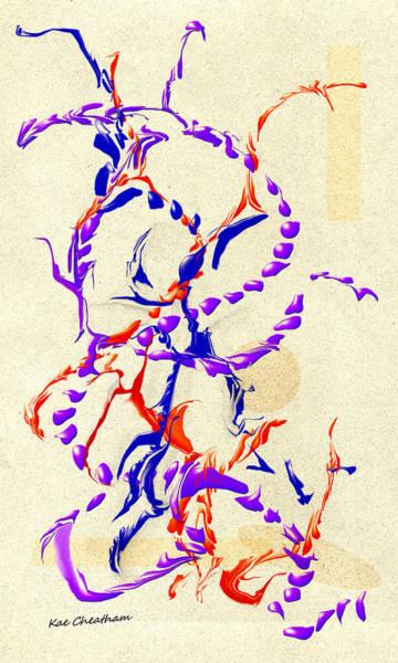 Digital Art - Abstract 215 5 by Kae Cheatham