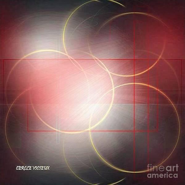 Light And Shadow Digital Art - Abstract 285-2014 by John Krakora