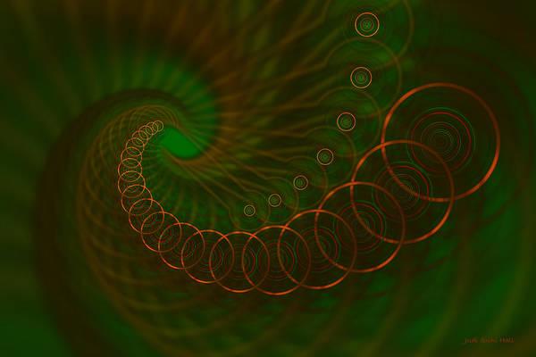 Digital Art - Abstract 340 by Judi Suni Hall