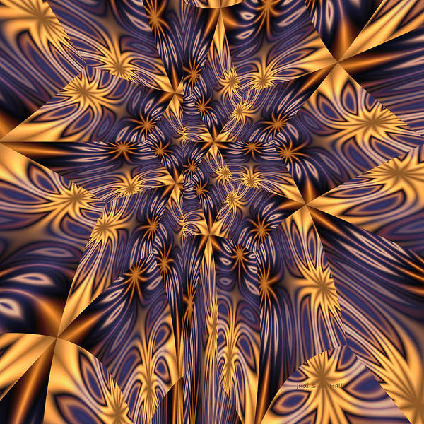 Digital Art - Abstract 373 by Judi Suni Hall