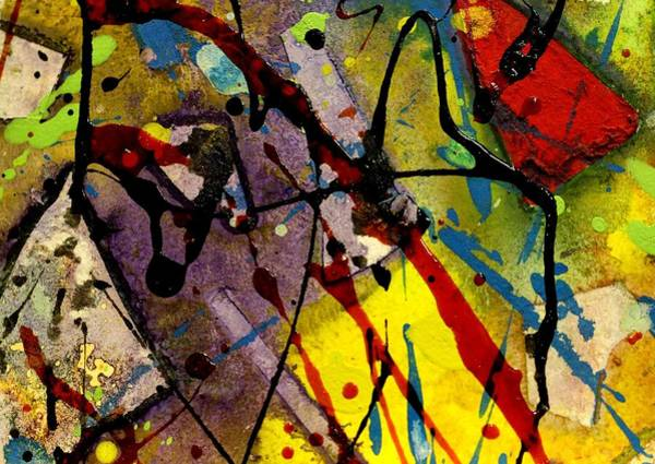 Acrylic Mixed Media - Abstract 53 by John  Nolan