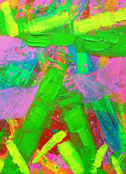 Wall Art - Painting - Abstract 6814 Diptych  II  by John  Nolan
