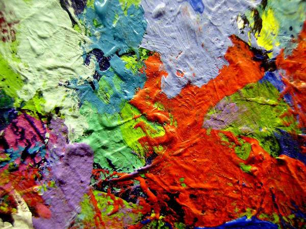 Abstract Expressionism Wall Art - Painting - Abstract 7 by John  Nolan