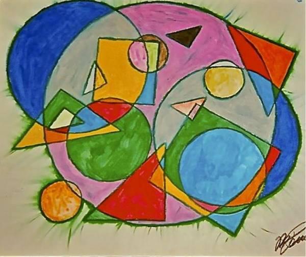 Abstract 89-001 Art Print