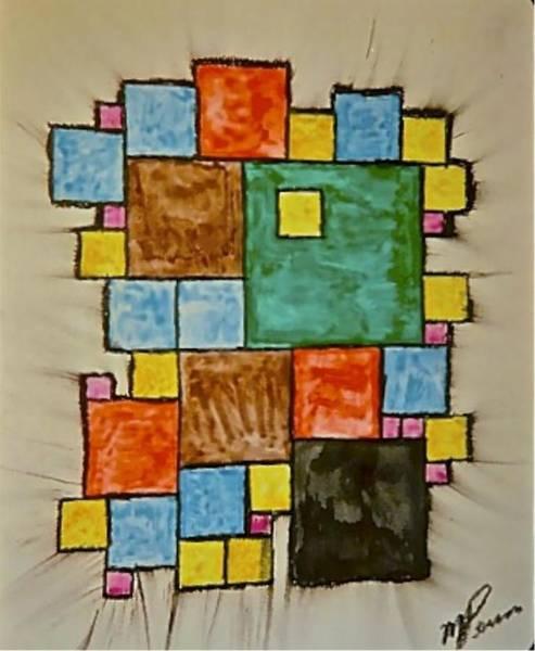 Abstract 89-003 Art Print