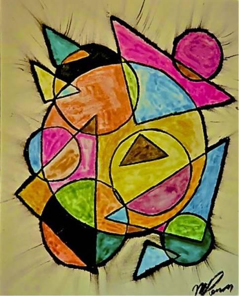 Abstract 89-004 Art Print