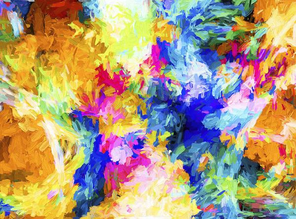 Digital Art - Abstract Series A10 by Carlos Diaz