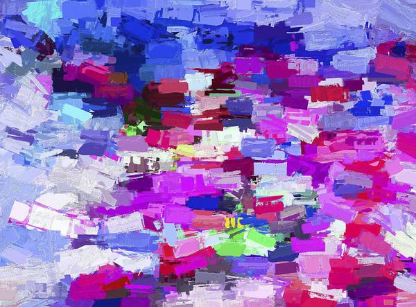 Digital Art - Abstract Series A7 by Carlos Diaz