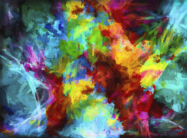 Digital Art - Abstract Series A9 by Carlos Diaz