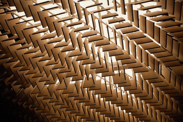Photograph - Abstract Architectural Pattern by Lena serditova