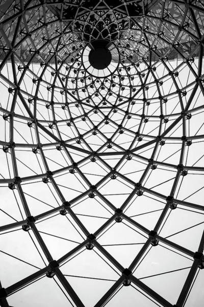 Photograph - Abstract Architecture Curved Steel Beam by Tapanuth