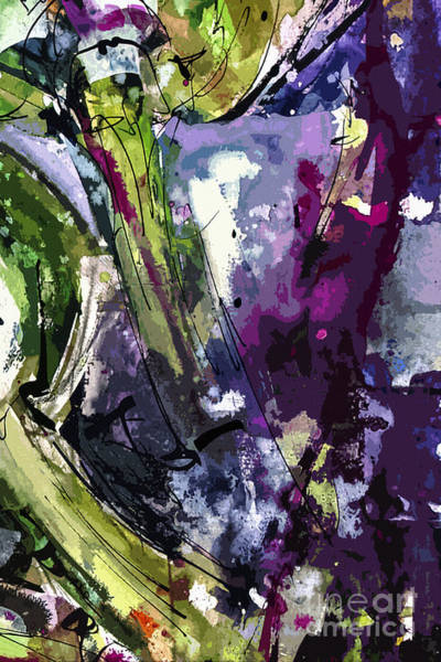 Painting - Abstract Arti 2 By Ginette by Ginette Callaway