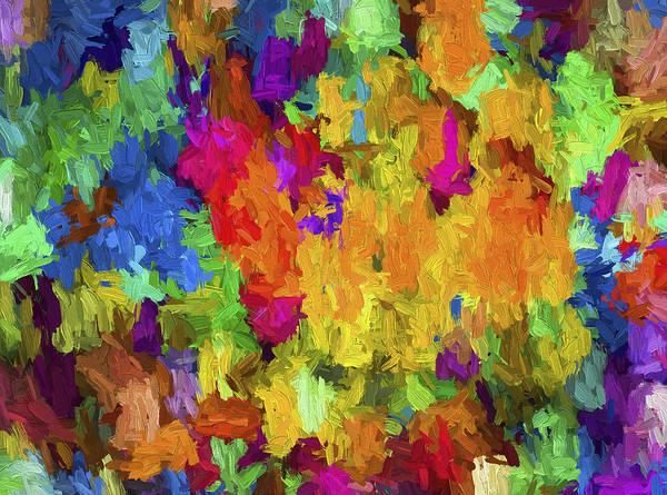 Digital Art - Abstract Series B7 by Carlos Diaz