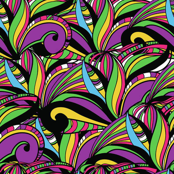 Indigenous Digital Art - Abstract Background by Suriko