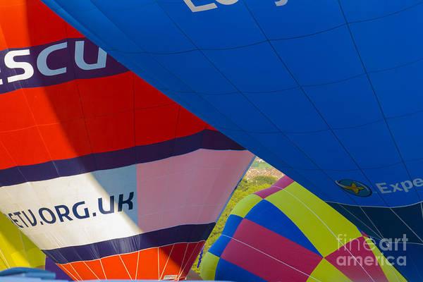 Photograph - Abstract Balloons by Brian Roscorla