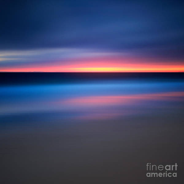 Wall Art - Photograph - Abstract Beach Sunset by Katherine Gendreau