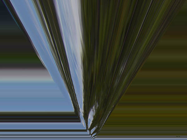 Digital Art - Abstract - Boat Wake - Four by Kathy K McClellan