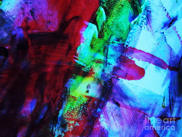 Photograph - Abstract Bold Colors by Andrea Anderegg