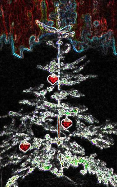 Photograph - Abstract Christmas by Marian Palucci-Lonzetta