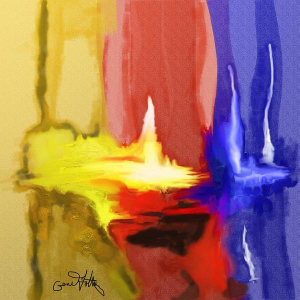 Painting - Abstract Colors by Eugene Foltuz