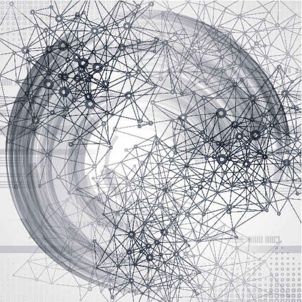 Reality Digital Art - Abstract Communication Technology by Derrrek