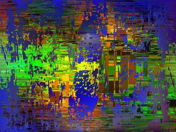 Dark Olive Green Wall Art - Digital Art - Abstract Cubed 58 by Tim Allen