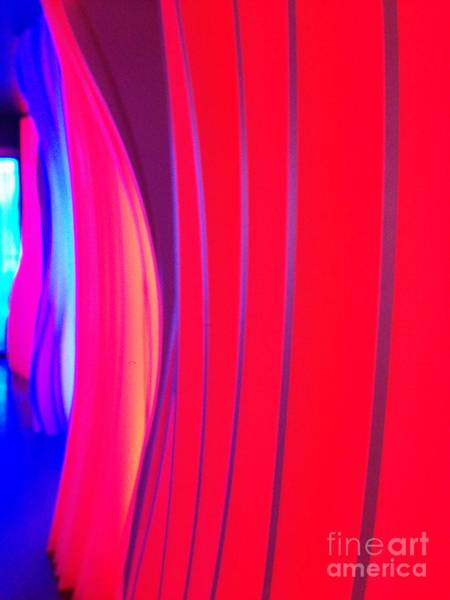 Photograph - Abstract Decor - Red And Blue by Cristina Stefan