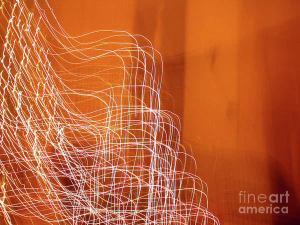Photograph - Abstract Energy by Kelly Holm