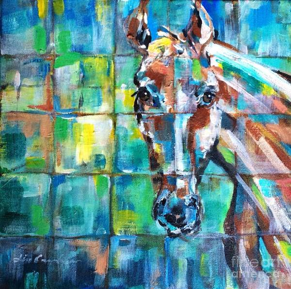 Painting - Abstract Equine by Lisa Owen-Lynch