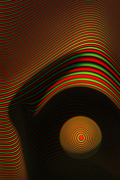 Digital Design Digital Art - Abstract Eye by Johan Swanepoel