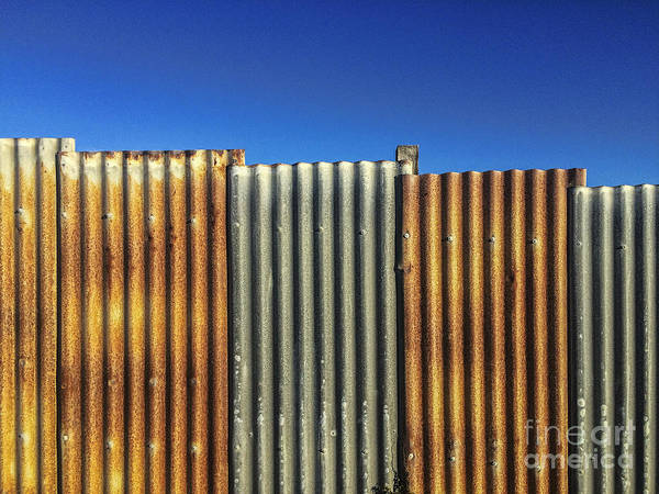 Iron Fence Wall Art - Photograph - Abstract Fence by Colin and Linda McKie