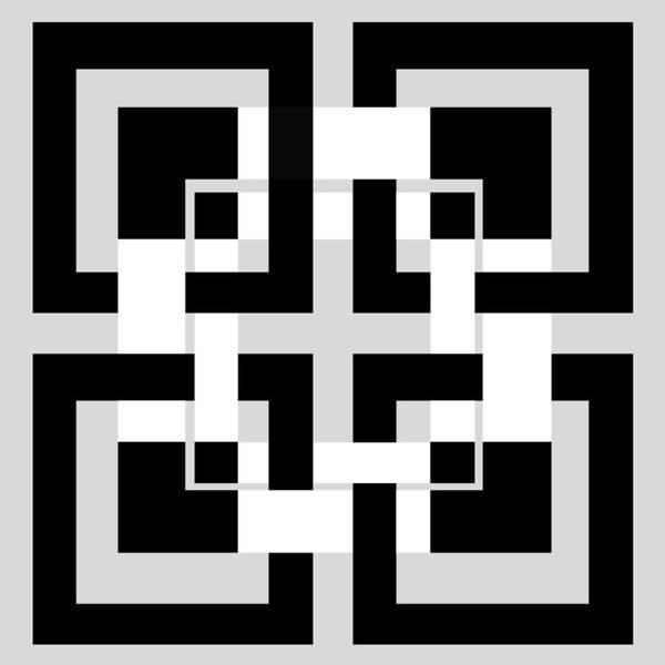 Geometry Digital Art - Abstract Geometric  by Mark Ashkenazi