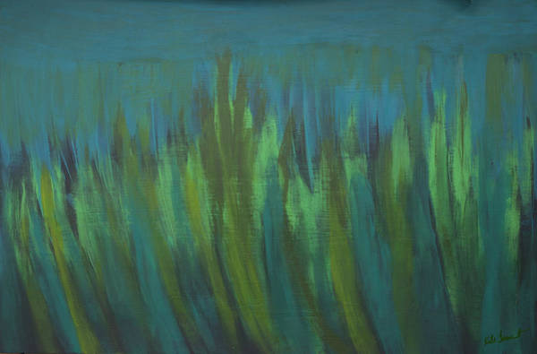 Kate Farrant - Abstract Green Painting