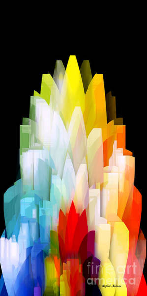 Digital Art - Abstract II by Rafael Salazar
