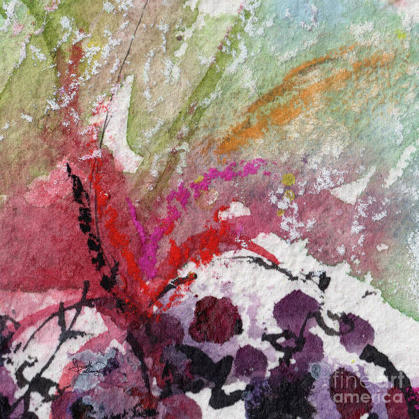 Painting - Abstract Juicy #1 by Ginette Callaway
