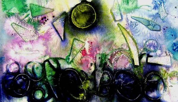 Irish Mixed Media - Abstract Landscape II by John  Nolan