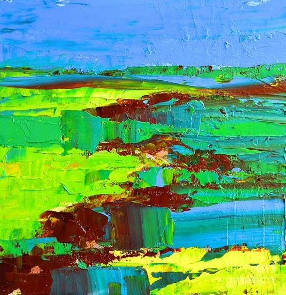 Painting - Abstract Landscape No 10 by Patricia Awapara