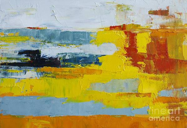 Painting - Abstract Landscape No 5 by Patricia Awapara