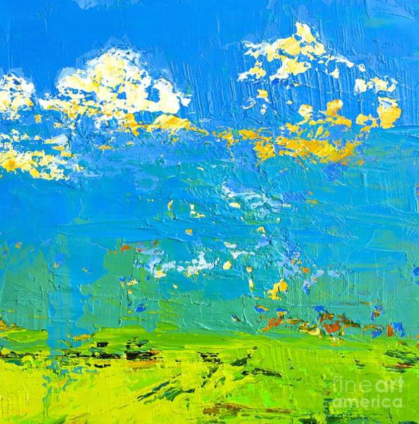 Painting - Abstract Landscape No 8 by Patricia Awapara