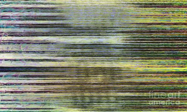 Photograph - Abstract Lines 2 by Edward Fielding