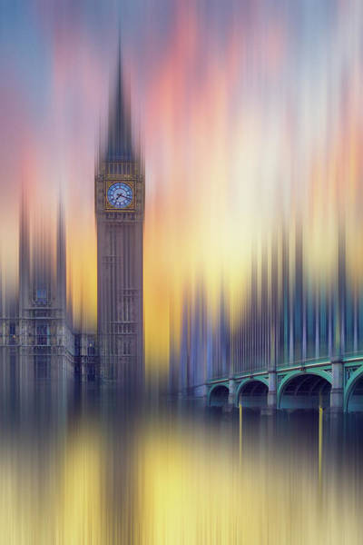 High Dynamic Range Imaging Photograph - Abstract London by Mammuth